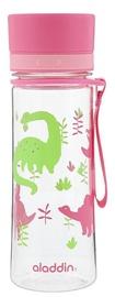 Aladdin Aveo Water Bottle 0.35l Pink Graphic