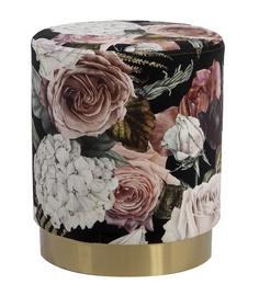 Pufs Home4you La Perla Flower, 35x35x42 cm