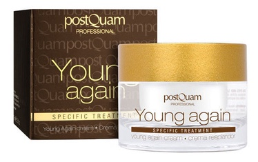 Sejas krēms PostQuam Professional Young Again Moisturising Cream, 50 ml