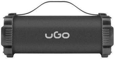 Bezvadu skaļrunis UGO Mini Bazooka 2.0 Black, 5 W