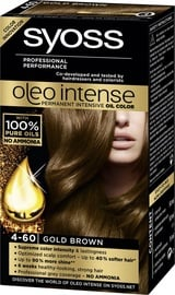 Syoss Oleo Intense Permanent Oil Color 4 60 Gold Brown
