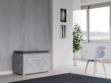 Top E Shop Opal Shoe Cabinet Concrete