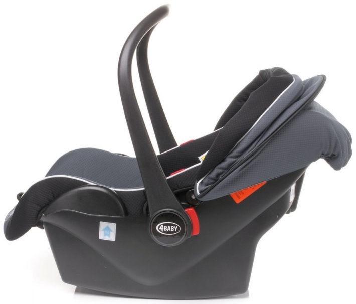 4Baby Car Seat Colby 0-13kg Turkus
