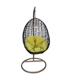 Садовое кресло подвесной Domoletti Sammy AK991, черный/зеленый