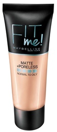 Тональный крем Maybelline Fit Me Matte + Poreless 220 Natural Beige, 30 мл