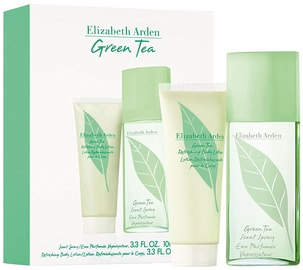 Elizabeth Arden Green Tea 100ml EDP + 100ml Body Lotion