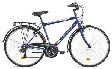 """Велосипед Bottari Good Bike Oxford, синий/серый, 19.5"""", 28″"""