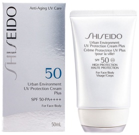 Sauļošanās krēms Shiseido Urban Environment UV Protection Cream Plus SPF50, 50 ml