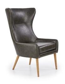 Atzveltnes krēsls Halmar Favaro, zaļa, 81x71x106 cm