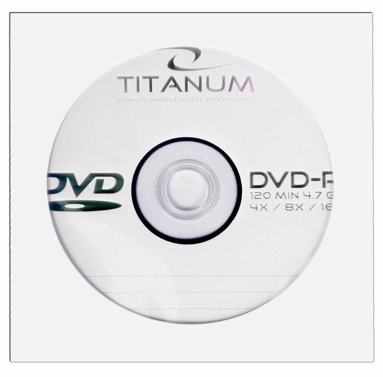 Esperanza 1074 Titanum DVD-R 8x 4.7GB Envelope 500pcs