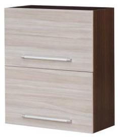 Augšējais virtuves skapītis Bodzio Loara 60GDP Latte/Nut, 600x310x720 mm