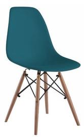 Ēdamistabas krēsls Signal Meble Enzo Turquoise