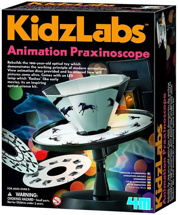 Intelektuāla rotaļlieta 4M KidzLabs Animation Praxinoscope 3255