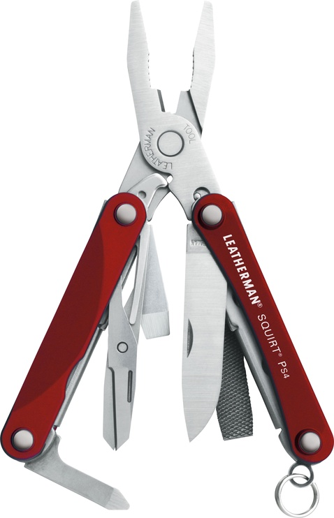 Leatherman Squirt PS4 Knife Red
