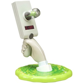 Licenced Rick And Morty Portal Gun Tabletop Or Wall Light 30cm