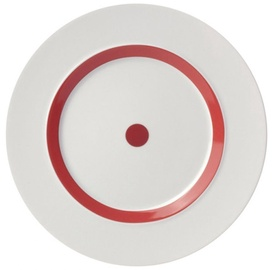 "ViceVersa Dessert Plate ""The Dot"" 23cm Red"
