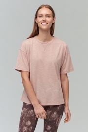 Audimas Light Dri Release T-Shirt Misty Rose S