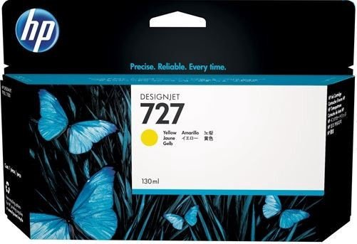 HP 727 DesignJet Ink Cartridge Yellow
