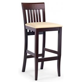 Bāra krēsls Halmar MIX Dark Walnut Beige