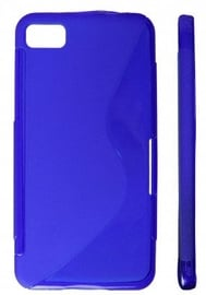 KLT Back Case S-Line LG Optimus Vu Silicone/Plastic Blue