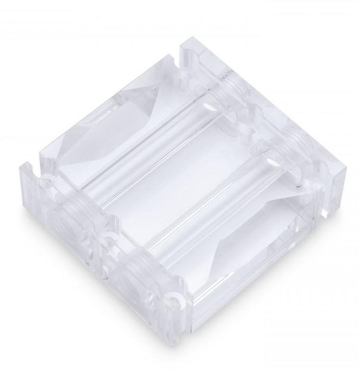 EK Water Blocks EK-Scalar Dual 3-slot Plexi