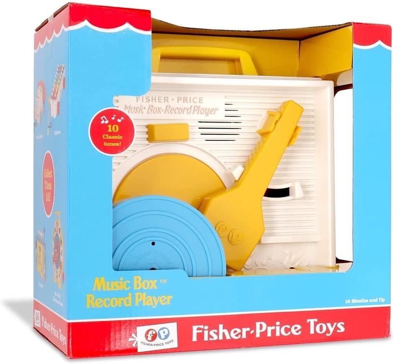 Interaktīva rotaļlieta Fisher Price Music Box Record Player