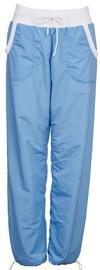 Bikses Bars Womens Trousers Light Blue/White 158 M