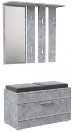 Top E Shop Opal Wardrobe Concrete