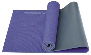 Toorx Yoga Mat Purple/Grey 173x60x0.6cm