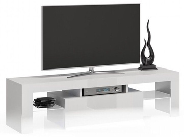ТВ стол Top E Shop Deko 140, белый, 1400x400x450 мм