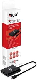Club 3D SenseVision MST Hub USB 3.1 Gen1 Type C To DisplayPort 1.2 Dual Monitor