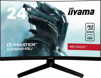 "Monitors Iiyama G-Master Red Eagle G2466HSU-B1, 23.6"", 1 ms"