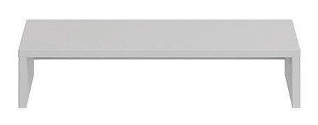 Black Red White Modai Shelf 56x15x32cm Grey