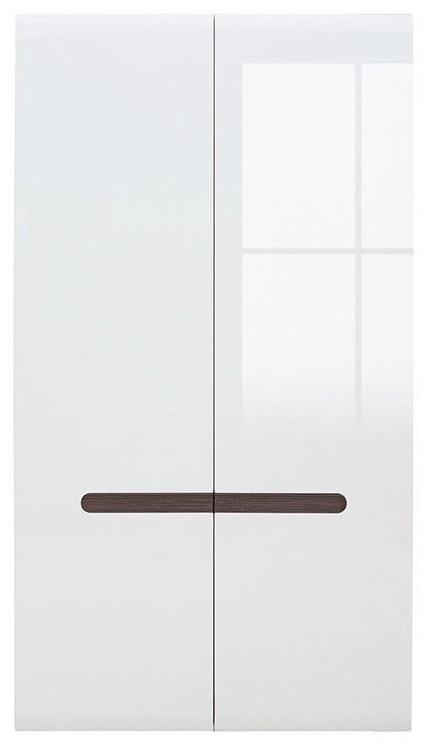 Skapis Black Red White Azteca Trio White, 105x57x193 cm