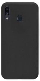 Mocco Ultra Slim Soft Matte Back Case For Samsung Galaxy J6 Plus J610 Black
