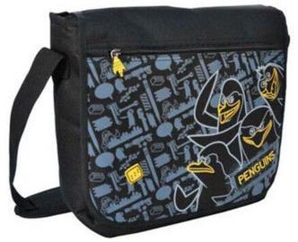 Спортивная сумка Paso, черный/желтый