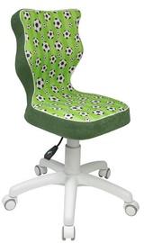 Bērnu krēsls Entelo ST29 White/Green, 370x350x830 mm