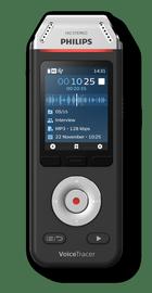 Diktofons DVT2110, melna, 8 GB