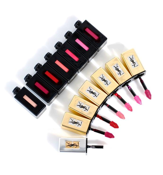 Блеск для губ Yves Saint Laurent Rouge Pur Couture Glossy Stain Pop Water 219, 6 мл