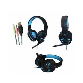 Игровые наушники Aula Prime Black/Blue