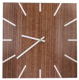 Mocco Wood Wall Clock Brown