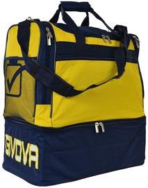 Sporta soma Givova Borsa M, zila/dzeltena