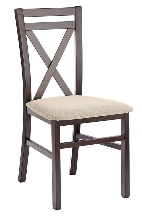 Ēdamistabas krēsls Halmar Dark Walnut/Vila 2, 1 gab.
