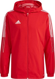 Adidas Tiro 21 Windbreaker Sweatshirt GP4965 Red L