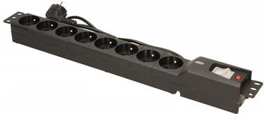 Стабилизатор напряжения (Surge Protector) Lestar Surge Protector 8 Outlet Black 1.5 m