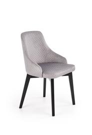 Ēdamistabas krēsls Halmar Toledo 3 Light Gray/Black, 1 gab.