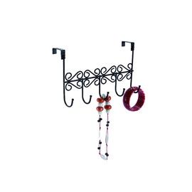 Hanger With 5 Hooks Black 0309160-AB