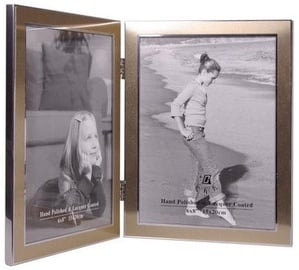 Poldom Photo Frame Double 15x20cm Gold