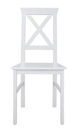 Ēdamistabas krēsls Black Red White Alla 4, balta