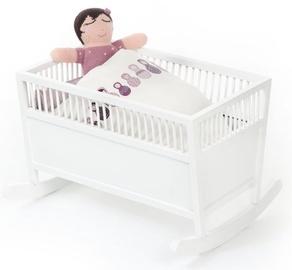 SmallStuff Rosaline Doll Cradle White